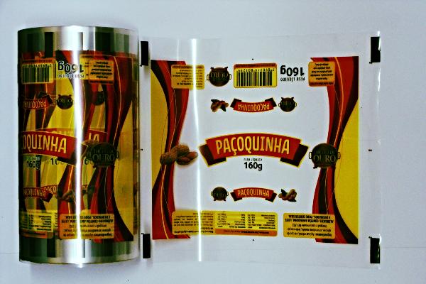 Impressos de Filmes para Embalagens em BOPP
